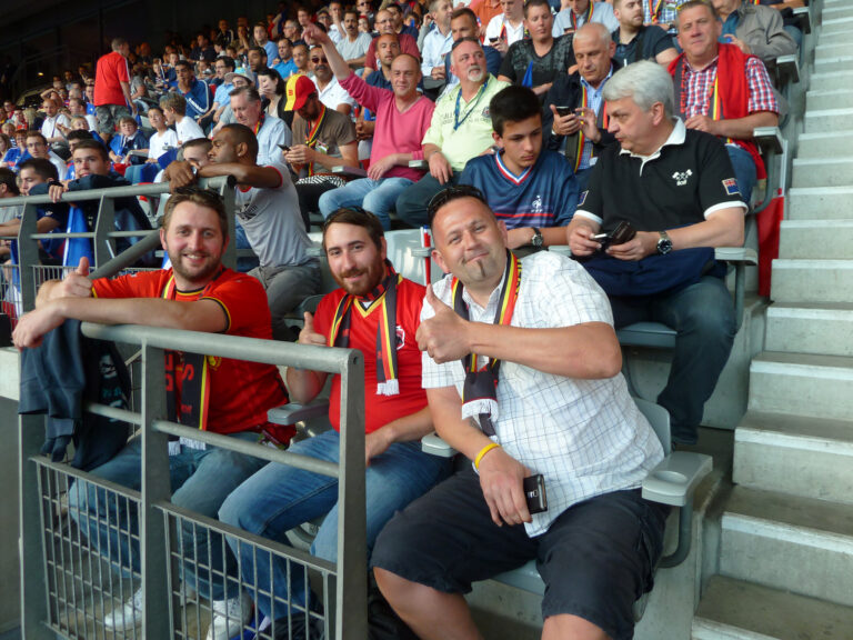 Hospitality match de football France-Belgique Juin 2015 à Paris