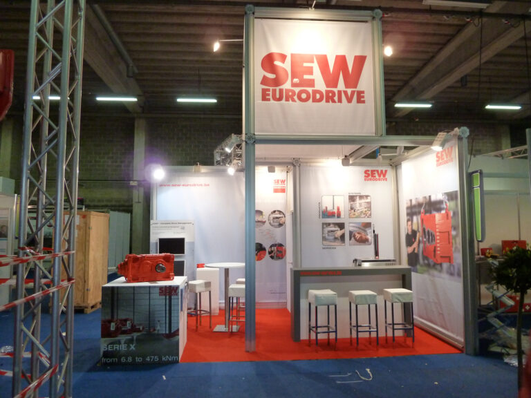 Salon Maintenance Antwerpen avec SEW